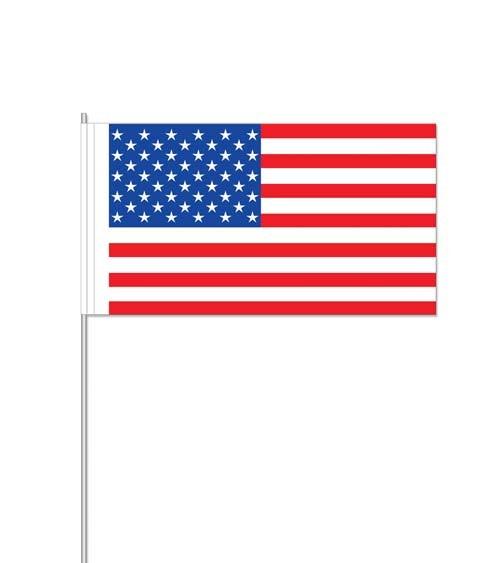 """Papierflaggen """"USA"""" - 10 Stück"""