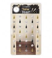 "Türvorhang ""Happy New Year"" - 99 x 195,5 cm"