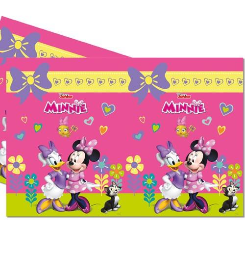 "Kunststoff-Tischdecke ""Minnie Happy Helpers"" - 120 x 180 cm"