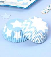 """Cupcake-Förmchen """"Little Star Blue"""" - 100 Stück"""