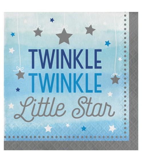 """Servietten """"One Little Star - Boy"""" - 16 Stück"""