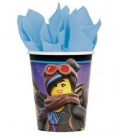"""Pappbecher """"Lego Movie 2"""" - 8 Stück"""